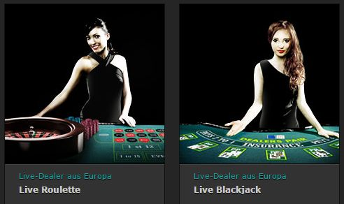 Live Dealer Roulette Blackjack Beispiel